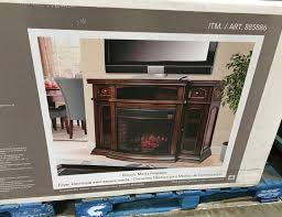 furniture tv stand fireplace costco entertainment cabinets
