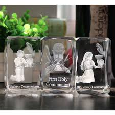 First Holy Communion Decorations Crystal Decoration Toy For Catholic Christian First Holy Communion