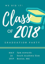graduation invitation templates canva