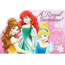 amazon com disney princess party supplies invitations toys u0026 games