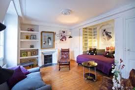Bedroom Apartment Decor Paris Studio Apartment Merges Classic Contemporary With Minimalism
