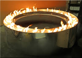 48 Fire Pit Ring by Custom Centerless Fire Pit Rings Propane Or Natural Gas Conversion