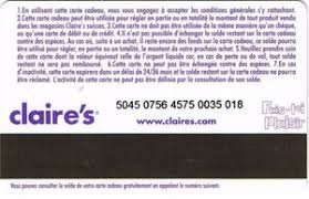 claires gift card gift card s s switzerland s col sw