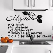 sticker cuisine sticker cuisine recette mojito eau gazeuse stickers citations