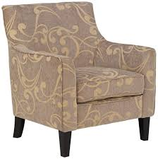 Blair Home Decor by Blair Taupe And Cream Swirl Armchair Furniturendecor Com