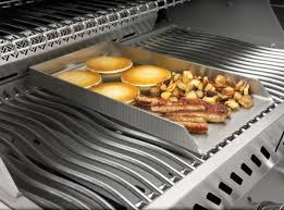 premier grilling napoleon pro stainless steel griddle for large