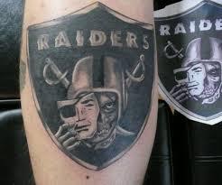 raiders skull helmet portrait tattoo photo 3 photo pictures