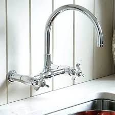 wall mount kitchen faucets with sprayer wall mounted kitchen faucet mastercomorga com