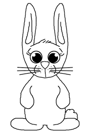 blank bunny outline free stock photo public domain pictures