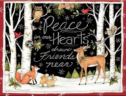 lang peace in our hearts boxed cards