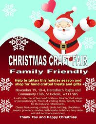 craft fair on 19 november at 10 00
