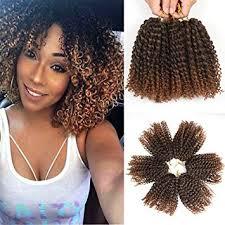 crochet hair 8 inch marlybob crochet hair 6 packs lot