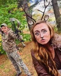 Halloween Hunter Costume Deer Doe Halloween Halloween Makeup