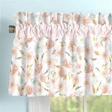 shabby chic valances coordinating window valances carousel designs