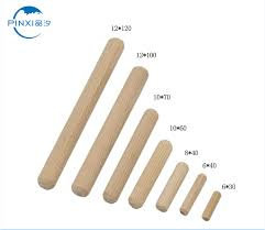 competitive price for wooden dowel rods maple small dowel pegs