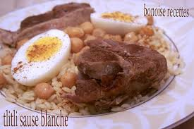 bonoise cuisine tlitli sauce blanche