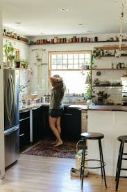 Kitchen Open Shelves Ideas by Best 25 Bohemian Kitchen Ideas On Pinterest Cozy Kitchen Cozy