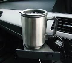 heated stainless steel travel mug amtech