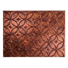 kitchen backsplash copper decorative vinyl panel wall tiles