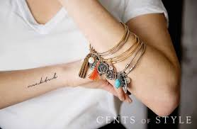 bangle style charm bracelet images Alex ani look alike charm bracelets for 9 95 shipped jpg