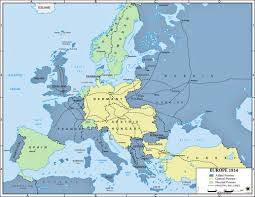 Europe 1815 Map by Europe 1914 Mrs Flowers History