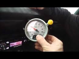 autometer monster tach light bulb setting auto meter tach youtube