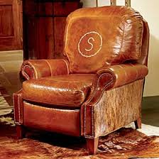 king ranch personalized recliner timeless king ranch furniture
