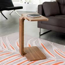 computer table for couch furniture home aingoo 100 bamboo laptop standing desk foldable