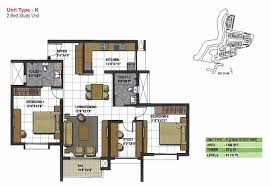 2 5 bhk floor plan part 47 2 5 bhk 1290 sq ft interior design