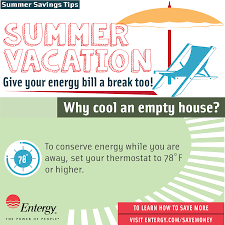 energy saving tips for summer entergy news room keep cool with entergy arkansas hot weather