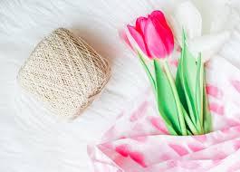 tulip bouquets country decor diy mini tulip bouquets