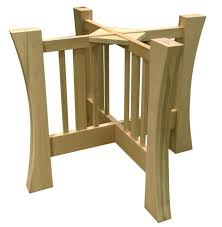 Unfinished Pedestal Table Pedestal Table Bases Cast Iron Dining Tablesround Pedestal Dining
