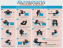 Office Desk Exercise How Will Exercise At The Office Desk Be In The