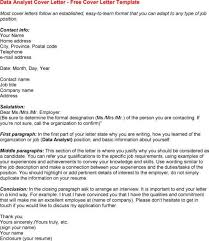cover letter for credit analyst sample analyst cover letter