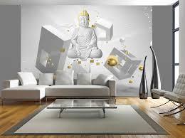 photo wallpaper wall murals non woven 3d modern art buddha zoom