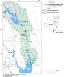 Colorado River Texas Map by Sediment Flows Into Galveston Bay Studied To Help Understand
