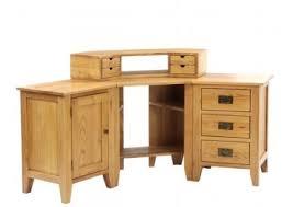 Corner Oak Desk Sherwood Rustic Oak Corner Pedestal Desk Sherwood Oak Nb110