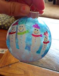 time to get started step diy snowmen handprint