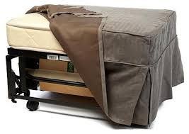 ottoman bed single castro convertible ottoman bed with single mattress and slip cover