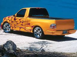 ford f 150 custom paint flames breakout