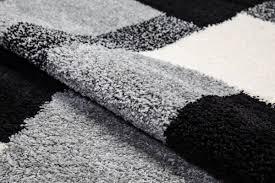White And Black Area Rug Well Woven Madison Shag Black Cubes Area Rug U0026 Reviews Wayfair