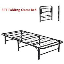 Folding Single Guest Bed 3ft Single Folding Metal Frame Bed Eggree Tm Fold Up Away Spare