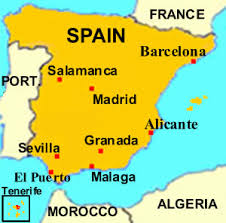 map of spain facts about spain