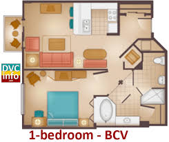 Bay Lake Tower Two Bedroom Villa Floor Plan Disney U0027s Beach Club Villas Dvcinfo Com