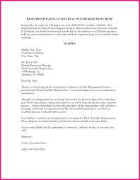Business Rejection Letter Sample by 10 Job Letter Sample From Employer