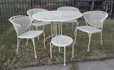 Wrought Iron Patio Furniture Vintage Woodard Wrought Iron Outdoor Furniture Sets Ebay