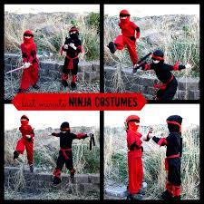 sewing pattern ninja costume easy diy ninja costume