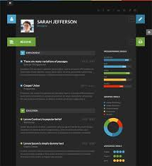 Resume Design Online by 7 Best Inspiration Cv Images On Pinterest Cv Design Flat Design