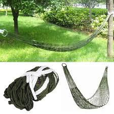 trixes survival camping hammock for army travel mini nylon