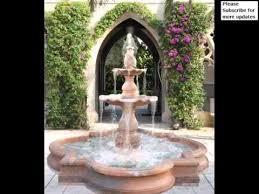 Water Fountain For Backyard - backyard water fountains fountains outdoor decor youtube